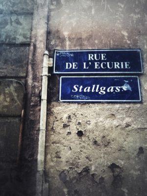 En Alsace, les noms de rues sont à la fois en français et en alsacien