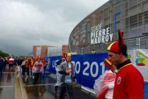 Le stade Pierre Mauroy avant le match