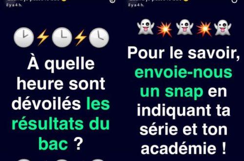 Article : L'Éducation Nationale dans Snapchat