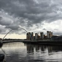 La ville de Newcastle-upon-Tyne