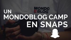 Un Mondoblog Camp en snaps avec Snapchat