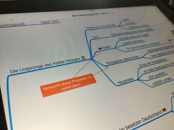 Une carte heuristique avec des émoticônes pour réviser le bac