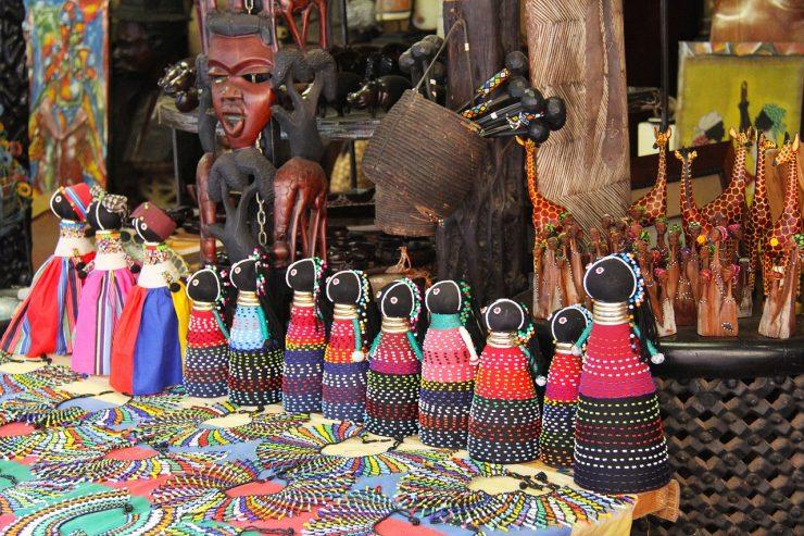 Des objets traditionnels Africains