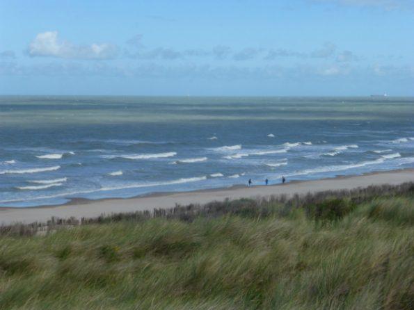 La Mer du Nord le long de l'EuroVelo 12