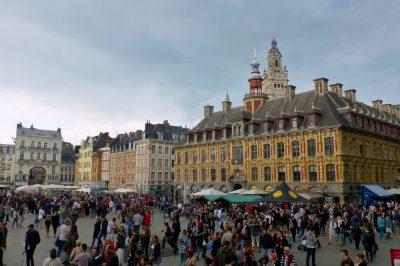 La Grand' Place lors de l'édition 2017 de la braderie de Lille
