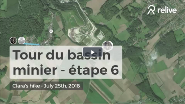 6ème étape du GR de pays Tours du bassin minier