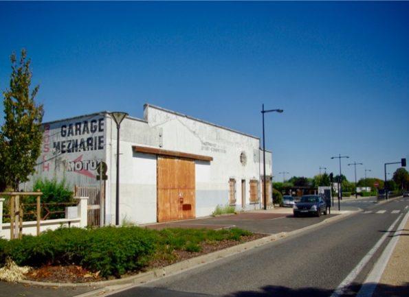 Le garage Meznarie ©Clara Delcroix