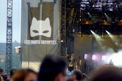 La grande scène des Nuits Secrètes ©Clara Delcroix