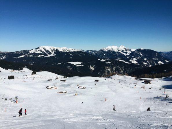 Steinplatte, station de ski autrichienne © Clara Delcroix