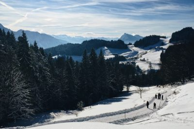 Les Alpes au Sud de l'Allemagne © Clara Delcroix