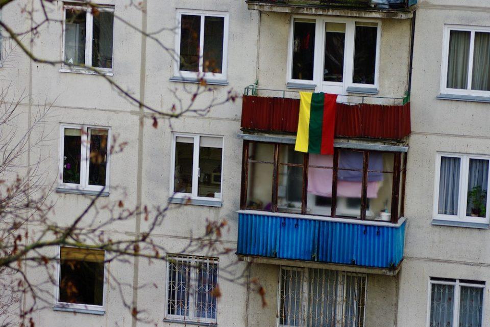 drapeau lituanien antakalnis
