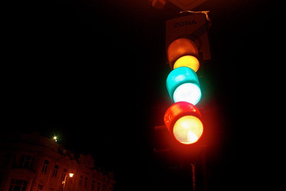 Les feux tricolores aux couleurs lituaniennes pour la fête nationale