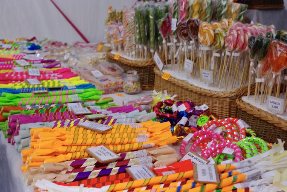 Un stand de sucreries ©Clara Delcroix