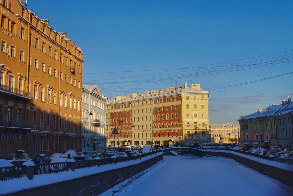 Le canal Griboïedov © Clara Delcroix