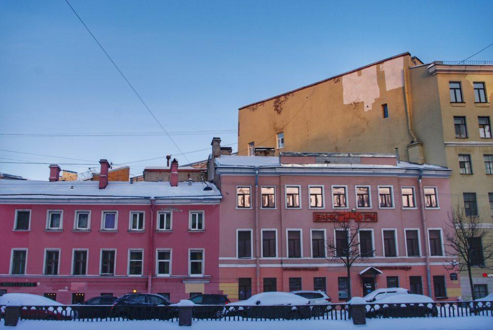 Le long du canal Griboïedov à Saint-Pétersbourg © Clara Delcroix