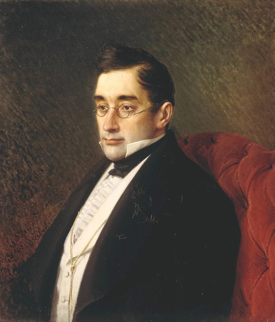Portrait d'Alexandre Griboïedov par Ivan Kramskoï CC Wikimedia https://commons.wikimedia.org/wiki/File:Griboyedov.jpg