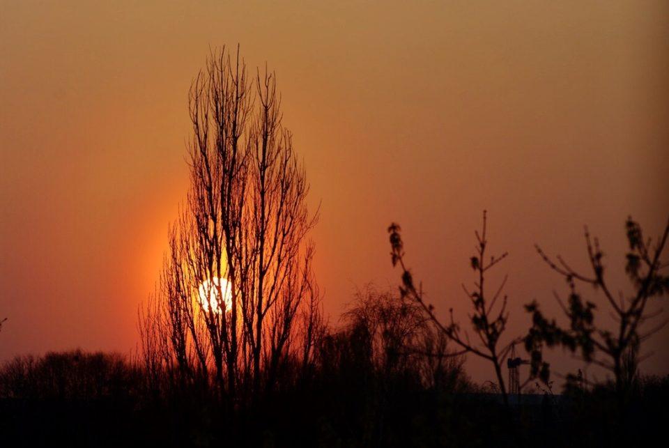 Coucher de soleil à Vilnius ©Clara Delcroix
