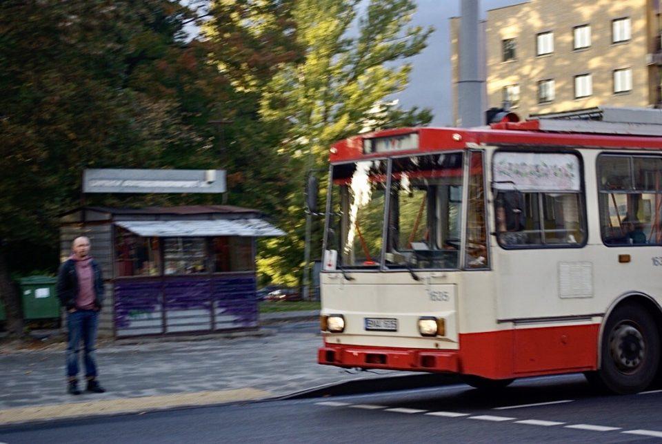Les trolley de Vilnius nous replongent dans l'ère soviétique © Clara Delcroix