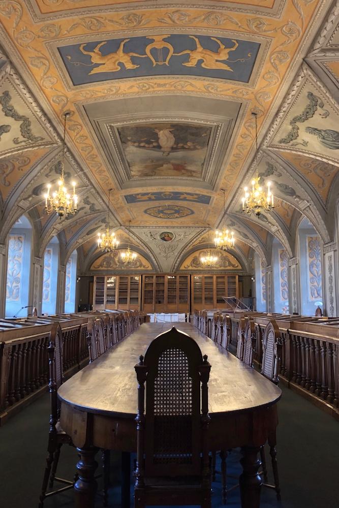 Bibliothèque de l'université de Vilnius © Clara Delcroix