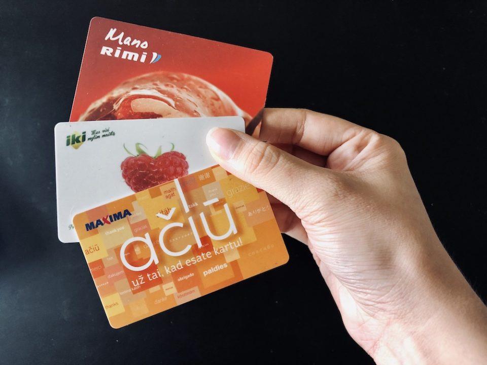 Les cartes de fidélité offrent rapidement des avantages en Lituanie © Clara Delcroix