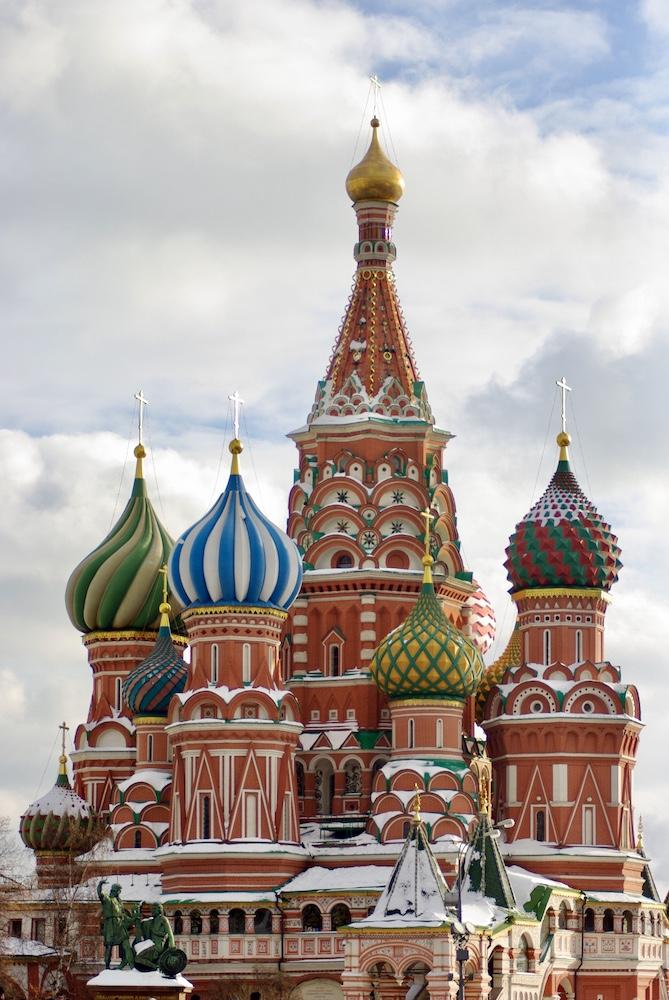 Cathédrale Saint-Basile-le-Bienheureux de Moscou © Clara Delcroix