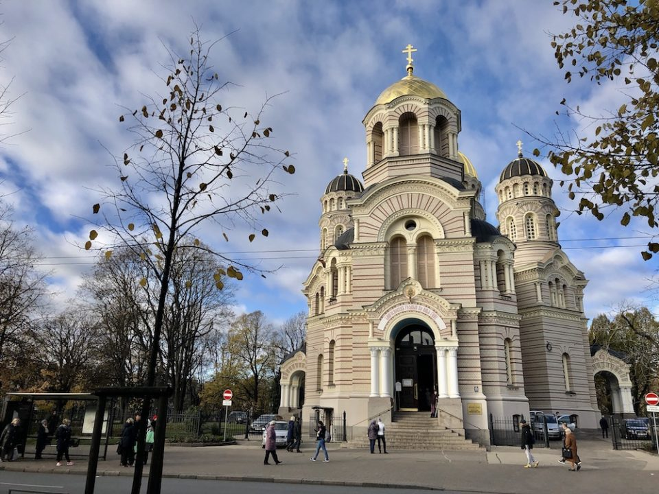 Cathédrale de la Nativité, Riga, Lettonie © Clara Delcroix