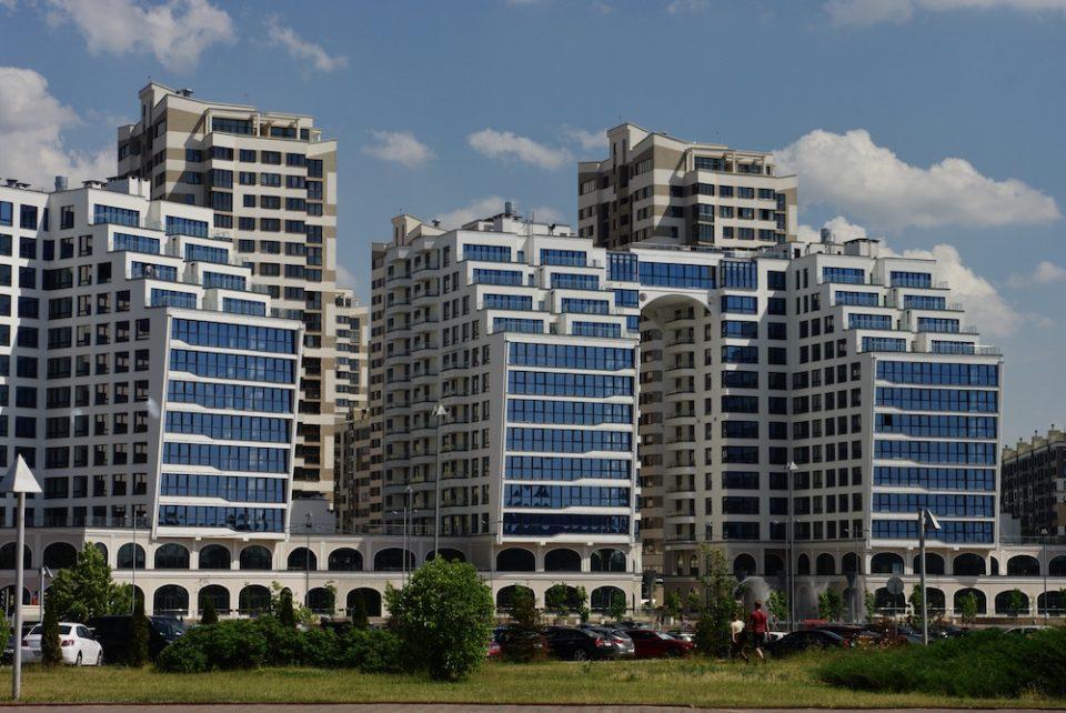 Immeubles de Minsk © Clara Delcroix