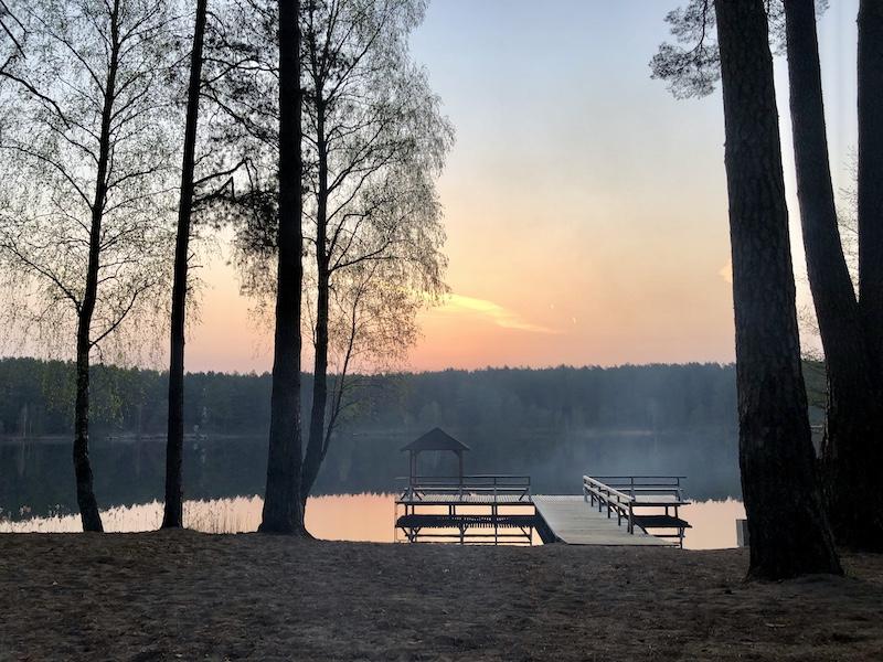 Ce ne sont pas les lacs qui manquent en Lituanie ! © Clara Delcroix