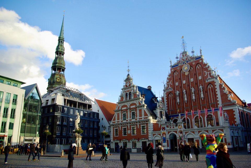 Maison des Têtes noires de Riga, Lettonie © Clara Delcroix