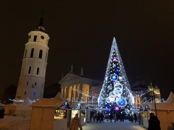 Le marché de Noël à Vilnius © Clara Delcroix