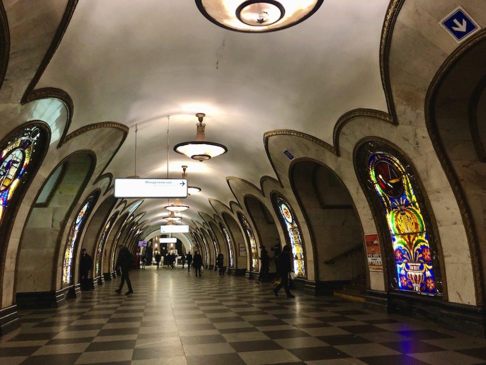 Métro moscovite ©Clara Delcroix