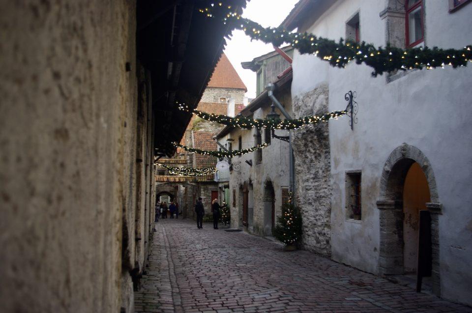 Passage Sainte-Catherine, Tallinn, Estonie © Clara Delcroix