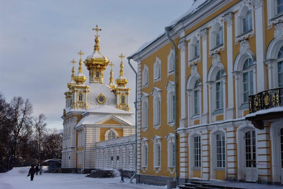Palais de Peterhof © Clara Delcroix