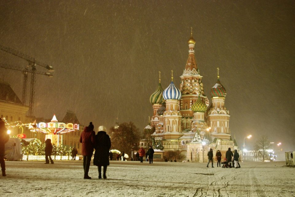 Place rouge, Moscou © Clara Delcroix