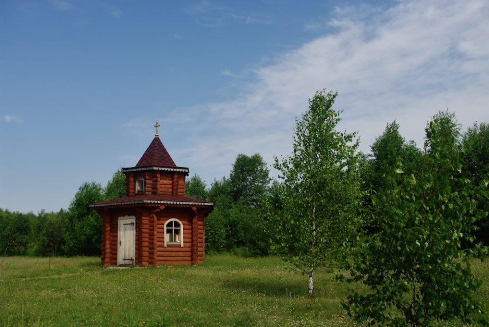 Chapelle dans la réserve de Berezinsky © Clara Delcroix