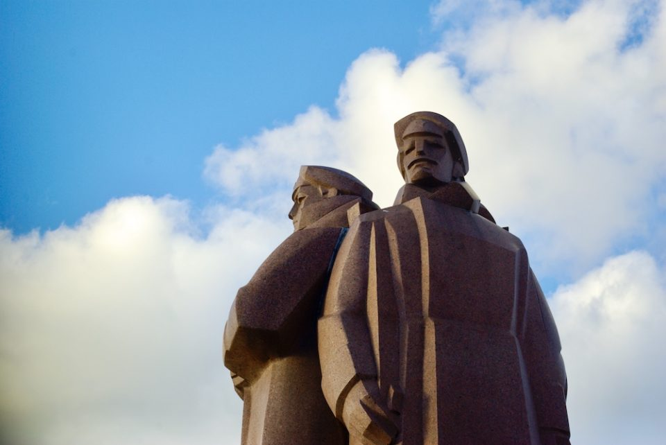 Statue des fusillés, Riga, Lettonie © Clara Delcroix