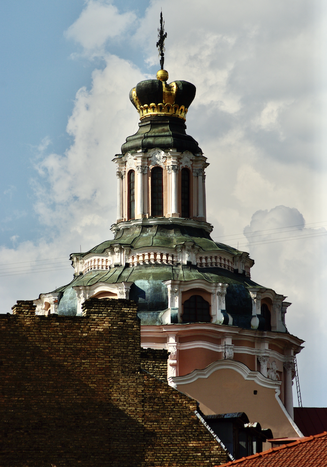 Clocher de l'église Saint-Casimir, Vilnius © Clara Delcroix