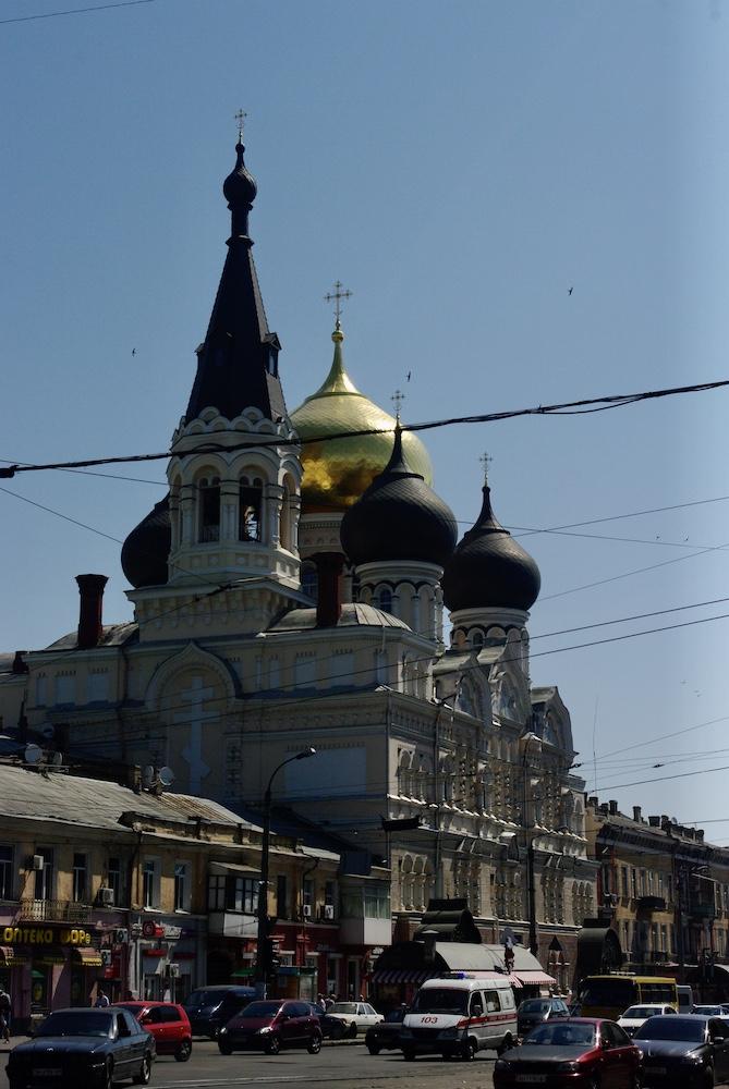 Église à Odessa, Ukraine © Clara Delcroix