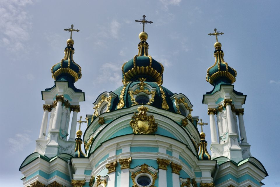 Église orthodoxe à Kiev © Clara Delcroix