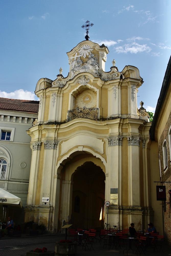 Église de Vilnius © Clara Delcroix
