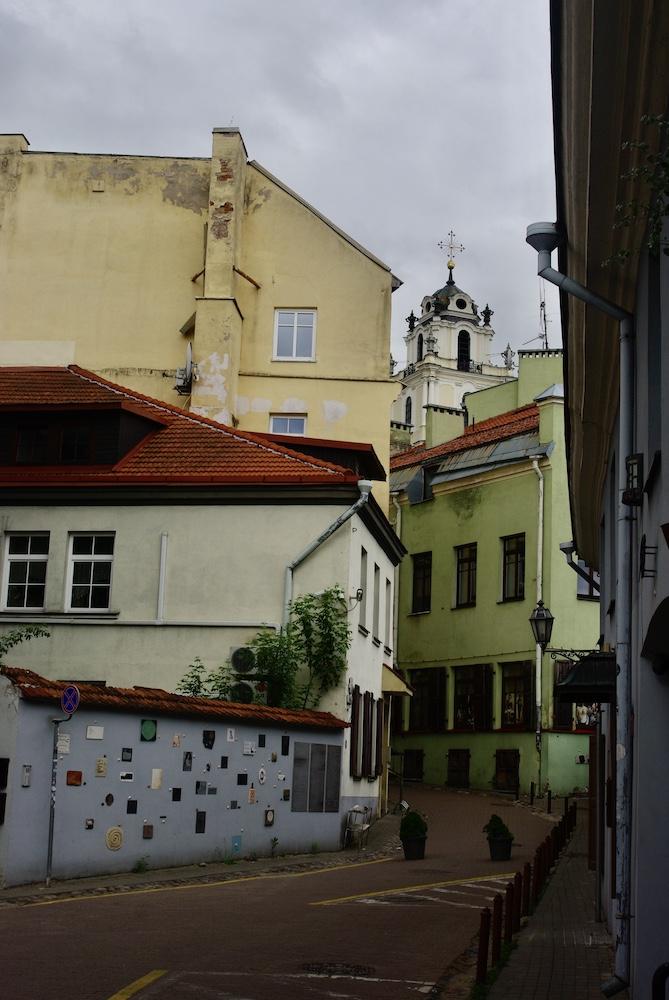 Literatų gatvė, Vilnius © Clara Delcroix
