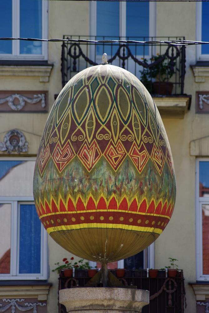 Œuf de Pâques, Vilnius © Clara Delcroix