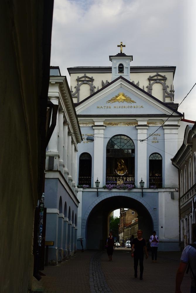 Porte de l'Aurore, Vilnius © Clara Delcroix